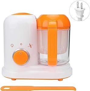 Yosooo 4-in-1 Mini Baby Food Maker,Baby Food Maker Chopper Grinder - Mills and Steamer Processor for Toddlers - Blend, Clean, Auto Shut-Off, 120V(110v-120v US)