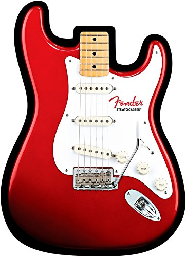 Fender Stratocaster Electric Guitar Mouse Pad - Red
