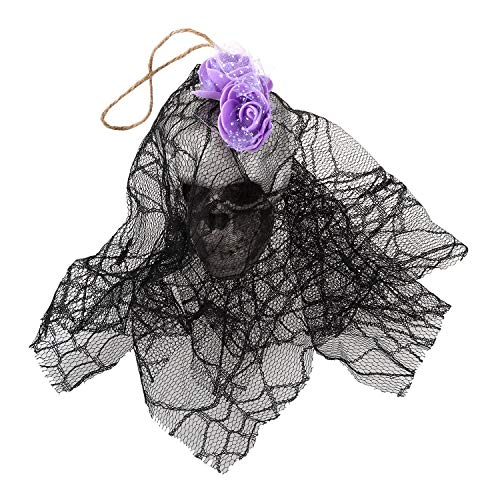 Party Diy Decorations - Hanging Witch Prop Animated Skeleton Ghost Scary Yard Outdoor Halloween Decor - Decorations Party Party Decorations Decor Witch Carnival Flowers Dress Halloween Plastic S ()