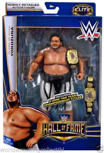 New Wwe Belt - New WWE Mattel Elite Series Hall of Fame Yokozuna Action Figures TAG BELTS