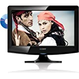 Coby LEDVD1596 15-Inch 720p 60Hz Widescreen LED HDTV with DVD Player (Black), Best Gadgets