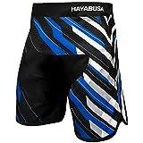 (US) Hayabusa Metaru Charged Jiu Jitsu Shorts, Black/Blue, 36