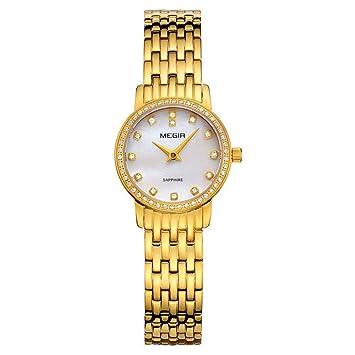 North King Indicación de la Fecha de Relojes señoras Reloj de Cuarzo Pulsera Simple Moda Reloj Relojes Bonitos para Regalo de cumpleaños de Adultos: ...