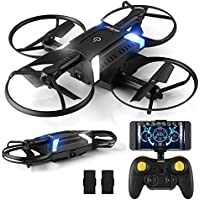 HELIFAR H816 2.4GHz 6-Axis Gyro Remote Control FPV Foldable Drone with Camera for Kids