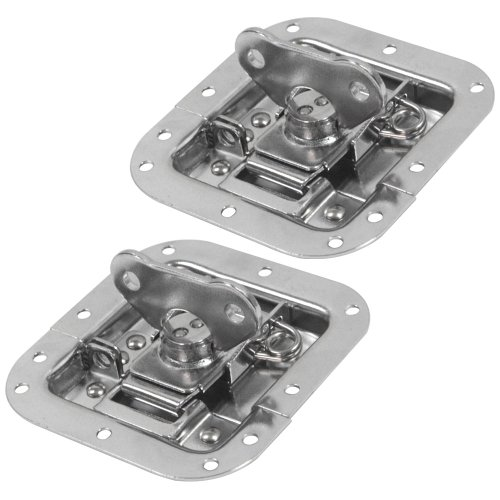 Seismic Audio - SAHW1-Pair - Pair of Replacement Butterfly Latches for Rack and Pedal Board Cases for use with Pro Audio Gear and Applications ()