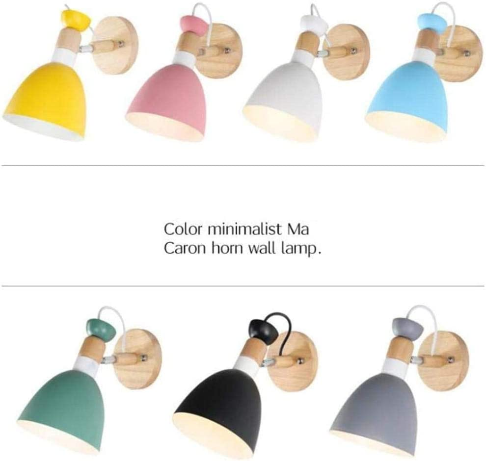 XZHKSP Wandlampe Bedroom Nordic Simple Living Room Stair Aisle Background Wall Lamp Modern Creative Decoration Personalized Bedside Lamp-B G