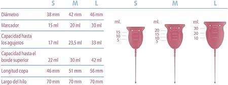 Enna Cycle - 2 Copas menstruales, Aplicador y Caja esterilizadora