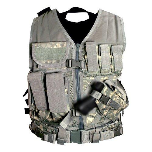 VISM by NcStar Tactical Vest, Digital Camo Acu, XX-Large (CTVL2916D) ()