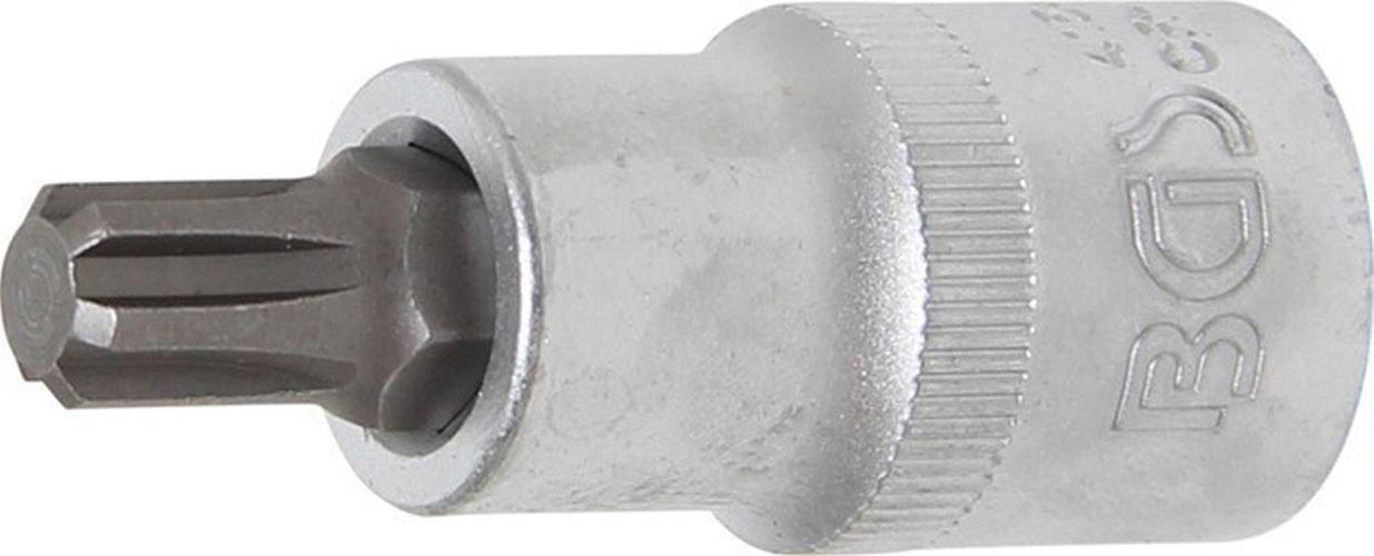 BGS technic PRO+ 1/2' Bit Socket, Ribe R9 x 55 mm