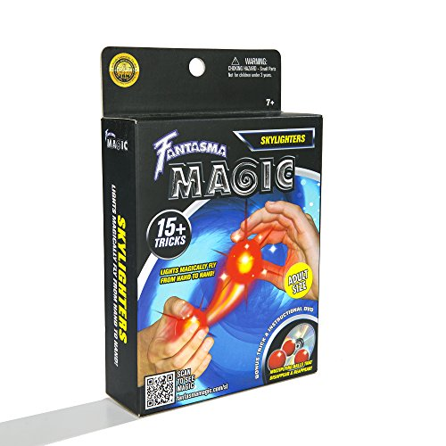 Fantasma Magic Skylighters Set with Over 15 Tricks Including Instructional DVD - Adult -