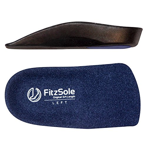 Arch Support Insole Inserts for Women or Men- for Flat Feet & Plantar Fasciitis (5 Sizes)