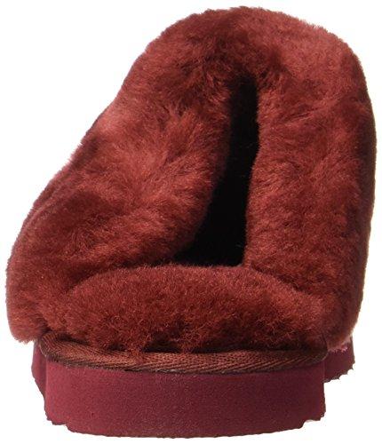 Warmbat ruby Pantoufles 79 Flurry Rouge Femme rZFrgY