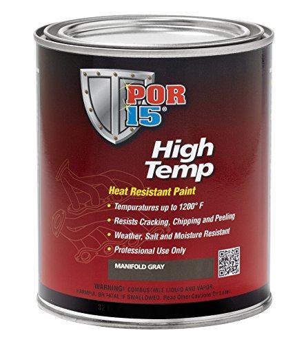 Por 15 44304 Aluminum High Temperature Paint 1 Quart