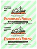 Fisherman's Friend Sugar Free Mint Cough Suppressant Lozenges, 40-Count Bags (Pack of 12) by Fisherman's Friend