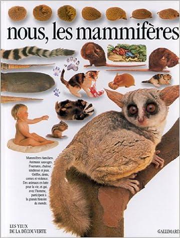 Livres gratuits Nous, les mammifères epub pdf