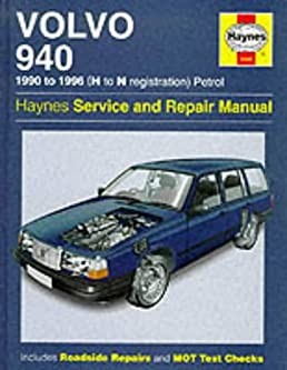 volvo 940 1990 to 1996 h to n registration petrol haynes service rh amazon com volvo 940 service manual pdf volvo 940 owners manual