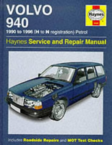 Volvo 940 1990 to 1996 (H to N Registration) Petrol (Haynes Service and Repair Manuals)