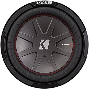 "Kicker 43CWR104 CompR 10"" 4-Ohm Subwoofer"