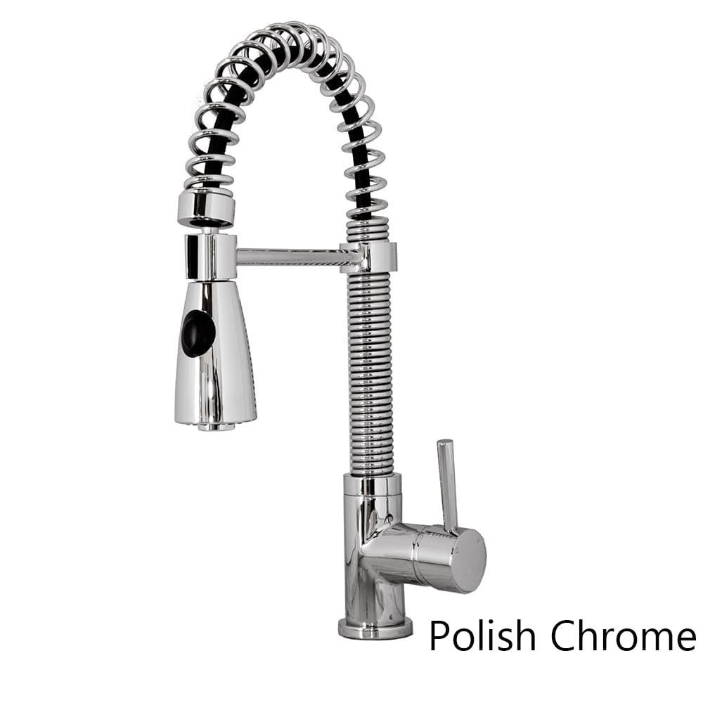 Virtu USA PSK-1007-BN Ceto single Handle Faucet, Brushed Nickel by Virtu USA