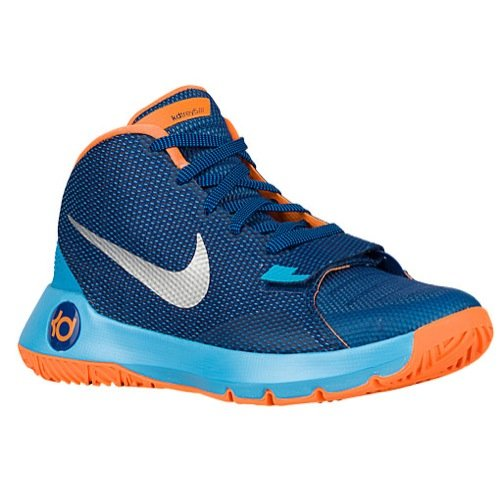 Nike Men\u0027s KD Trey 5 III Basketball Shoes-Insignia Blue/Bright Citrus (12)