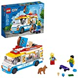 Toys : LEGO City Ice-Cream Truck 60253, Cool Building Set for Kids, New 2020 (200 Pieces)