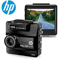 HP DASH CAM for Cars HD 1440P Built-in GPS DVR Vehicle Dashboard Digital Car Camera Recorder,Super Night Vision,G-Sensor,Parking Guard, WDR,Loop Recording,Invisible