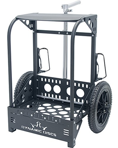 ck Cart LG by ZÜCA - Offers 50% Greater Capacity Than The Original Backpack Cart - Black ()