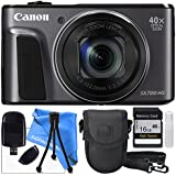 Canon PowerShot SX720 HS Camera, USB SD Card Reader, Camera Case with Rain Protection and Memory Card 16GB SDHC Class 10