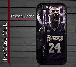 linJUN FENGiphone 6 plus 5.5 inch (New Color Model) Rubber Silicone Case - Kobe Yelling 24 Lakers Baby LA Los Angeles