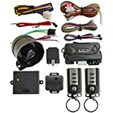 BANVIE Car Security Alarm System with Remote Start