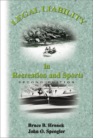 Download Legal Liability in Recreation and Sport (2nd Edition) Pdf