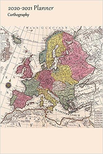 2020-2021 Planner Carthography: Medium Academic 2020-21 ...