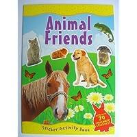 ANIMAL FRIENDS Sticker Activity Book (A4)
