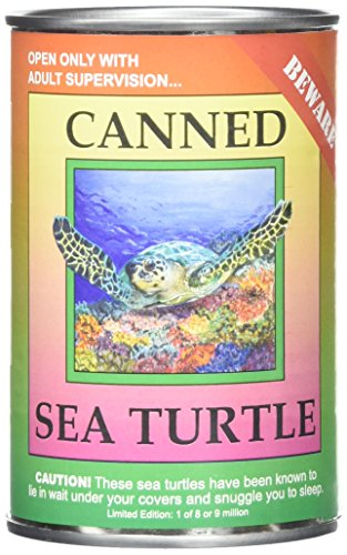 Sea Critters (Canned Critters Stuffed Animal: Sea Turtle 6