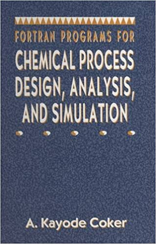 Analysis Fortran Programs for Chemical Process Design and Simulation