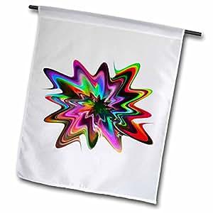 Florene Spiritual Energy - Radical - 12 x 18 inch Garden Flag (fl_7499_1)