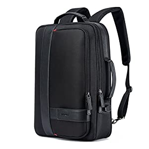 Men's Backpack Black USB Charging Anti Theft Laptop Backpack 15.6 Inch Male Large Capacity College School Bags