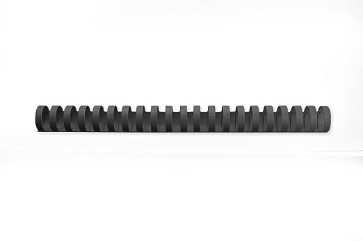 13 opinioni per CombBind Dorsi per Rilegatura ad Anelli Plastici da 25mm, Confezione da 50