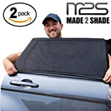 Car Window Shade Sun Shade To Protect Your Baby/ Kid/ Pet From Harmful UV Light| Easy Setup In The Rear Side Windows| Premium Interior Car Accessories, Blinds & Sun Shields