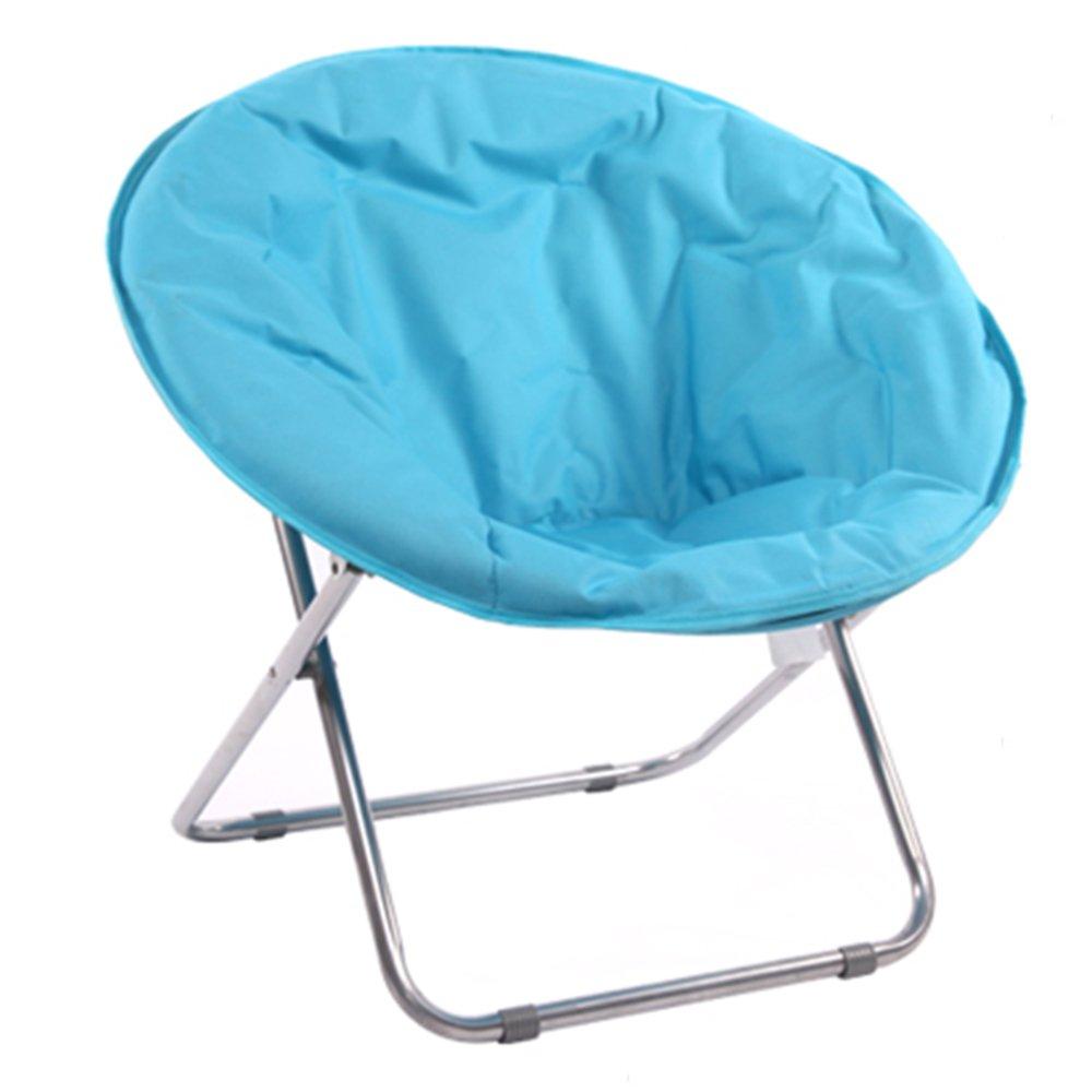 Faltbarer Plattform-Stuhl/faltende Sun-Liege/stützender Stuhl/entspannter Stuhl/Multifunktionsklappstuhl (3 Farben, zum von zu wählen) (Farbe : Blau)
