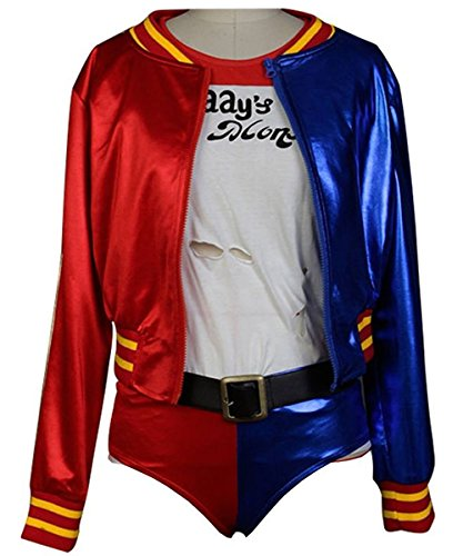 Beauty Costume Suicide Squad Cosplay Costume Harley Quinn Outfit Halloween Suit