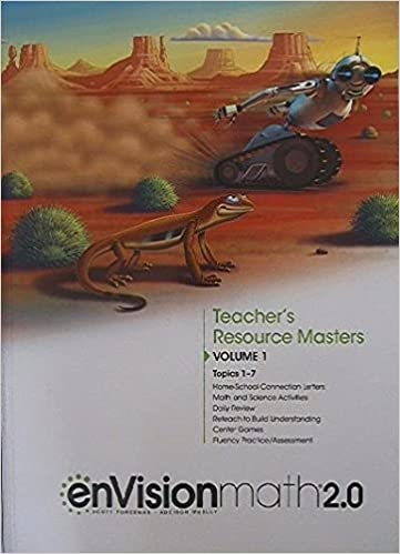 EnVision Math 2 0 Teacher S Resource Masters Grade 4