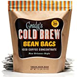 Grady's Cold Brew Iced Coffee Bean Bags (1 pack of 12 bags) 1.5 Lbs (24 Oz)