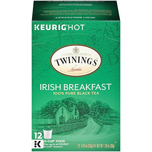 Twinings of London Irish Breakfast Tea K-Cups for Keurig, 12 Count (Pack of 6) by Twinings (Image #3)