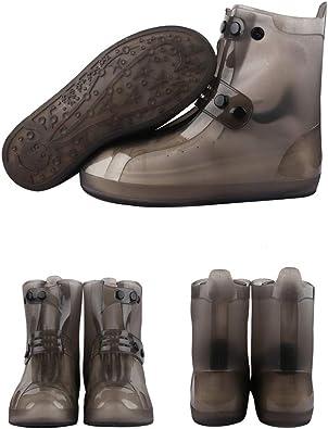 Botas de Seguridad Wellington, Botas de Trabajo, Botas de Lluvia, Botas de jardín Antideslizantes, Plegables: Amazon.es: Zapatos y complementos