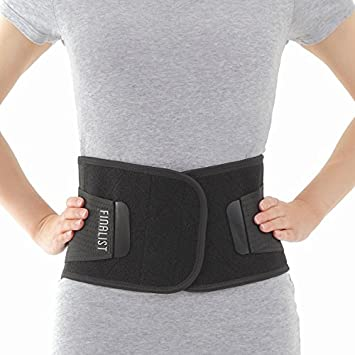 FINALIST Adjustable Back Brace - Lumbar Support Belt for Severe Lower Pain Relief Amazon.com: