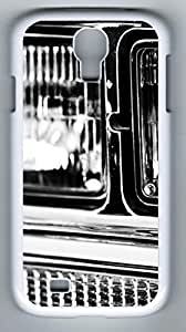 And Stares Out At The Stars Hard Cover Back Case For Samsung Galaxy S4,PC Fashion White Case for Samsung Galaxy S4 i9500