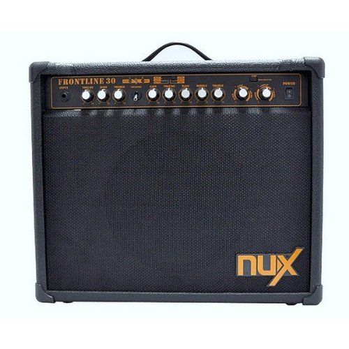 NUX Frontline 30 Electric Guitar Amplifier 30-Watt Clean and Distortion by NUX