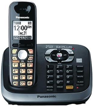 Panasonic KX-TG6541B Plus DECT 6.0 Expandable Digital Cordless sistema de contestador: Amazon.es: Electrónica
