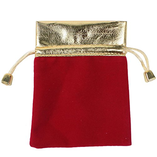 Housweety Velvet Drawstring Pouches Jewelry